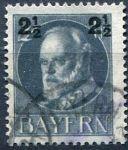 (1919) MiNr. 111 - O - Bayern - Král Ludvík III. - přetisk