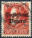 (1919) MiNr. 120 - O - Bayern - Král Ludvík III. - přetisk