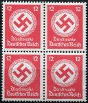 (1944) MiNr. D 172 **, 4-bl - Deutsches Reich - Služební známka