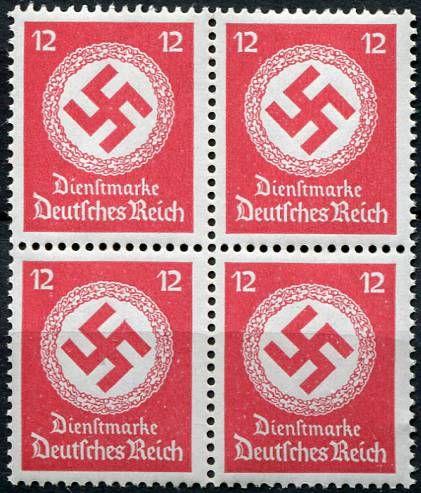 (1944) MiNr. D 172 **, 4-bl - Deutsches Reich - Služební známka | www.tgw.cz