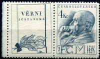 (1947) č. 459 ** - KL - DO - šikmá moletáž obrazu kuponu | www.tgw.cz