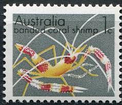 (1973) MiNr. 526 ** - Austrálie - Korálové krevety | www.tgw.cz