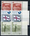 (1976) MiNr. 21 - 23 ** sp - Faerské ostrovy - Vznik faerské pošty