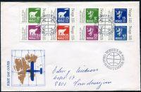 (1978) FDC - MiNr. 775 - 782 - Norsko - Mezinárodní výstava poštovních známek NORWEX 1980, ...