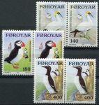 (1978) MiNr. 36 - 38 ** sp - Faerské ostrovy - Mořští ptáci