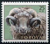 (1979) MiNr. 42 ** - Faerské ostrovy - Chov ovcí