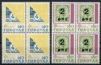 (1979) MiNr. 43 - 44 **, 4-bl - Faerské ostrovy - EUROPA
