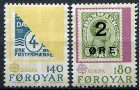 (1979) MiNr. 43 - 44 ** - Faerské ostrovy - EUROPA