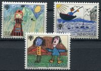 (1979) MiNr. 45 - 47 ** - Faerské ostrovy - Mezinárodní rok dítěte