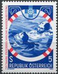 (1982) MiNr. 1698 ** - Rakousko - 25 let rakouské Vodní záchranné služby | www.TGW.cz