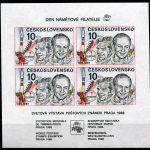 (1987) A 2817 B ** - Československo - Interkosmos - Den námětové filatelie