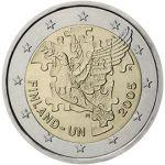 (2005) 2€ - Finsko - 50. výročí členství Finska v OSN (BU)