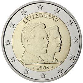 (2006) 2€ - Lucembursko - mince 25. narozeniny velkovévody Guillauma | www.tgw.cz