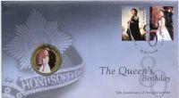 (2006) Austrálie - mincovní dopis MiNr. 2644 - 2645 + 50c královna Alžběta II. - kolorovaná