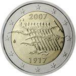 (2007) 2€ - Finsko - 90. výročí nezávislosti Finska (BU)
