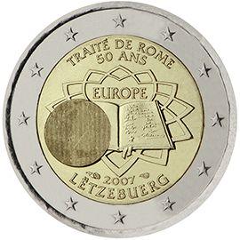 (2007) 2€ - Lucembursko - mince 50. výročí Římské smlouvy | www.tgw.cz