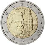 (2008)  2 € - Lucembursko - Velkovévoda Henri a 'Château de Berg ' (0/0)