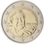 (2018) - 2 € - Německo - Helmut Schmidt - set A, D, F, G, J mincovny (0/0)