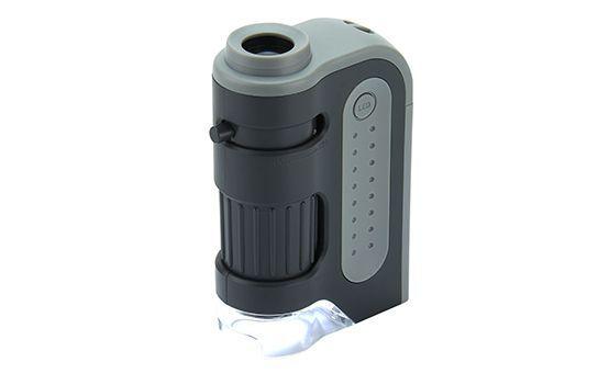 Carson Kapesní mikroskop 60-120x - MM-300 s LED   www.tgw.cz