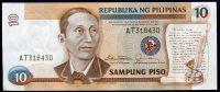 Filipíny - (P 169a) - 10 Piso (1985) - UNC