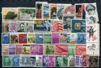 Sestava ražených známek USA - 50 ks