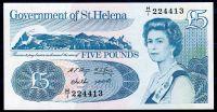 Svatá Helena - (P 11)  5 Pounds (1998) - UNC