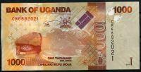 Uganda - (P 49e) 1000 Schillings (2017) - UNC
