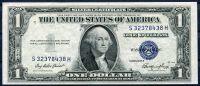 USA - P 416e - 1 dollar 1935 E série (S-H)  - UNC (modrá pečeť)