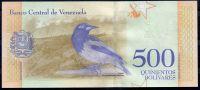 Bankovka 500 Bolivares Venezuela - kat. PICK 108b | www.tgw.cz