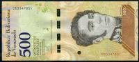 Venezuela (P 108b) - 500 bolivares (18.5.2018) - UNC