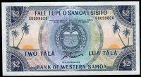 Západní Samoa - (P CS 17c) - 2 TALA (2020) - oficiální reprint UNC | www.tgw.cz