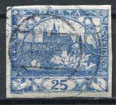 (1918) č. 10 - O - ČSR I. - Hradčany 25 h