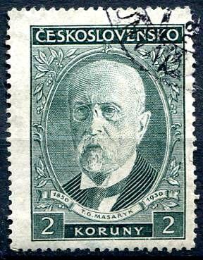 (1930) č. 261 - O - ČSR I. - 80. narozeniny T. G. Masaryka