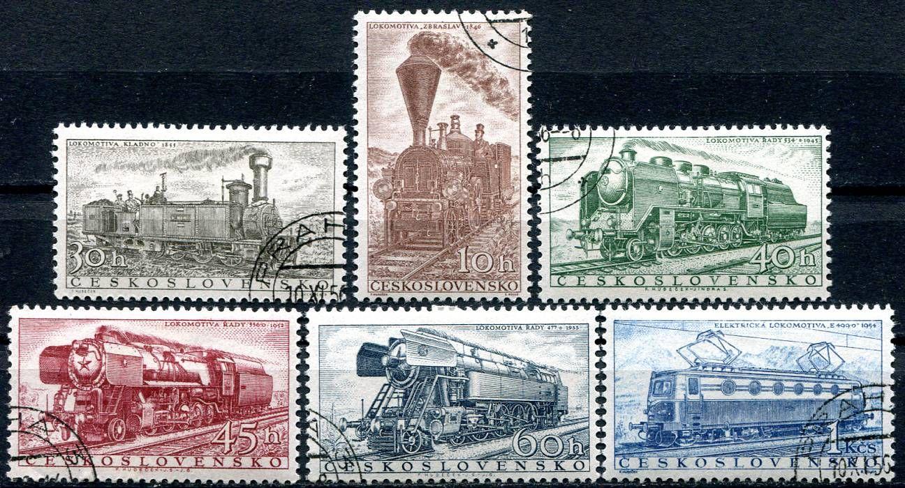(1956) č. 907 - 912 - O - Československo - Lokomotivy | www.tgw.cz