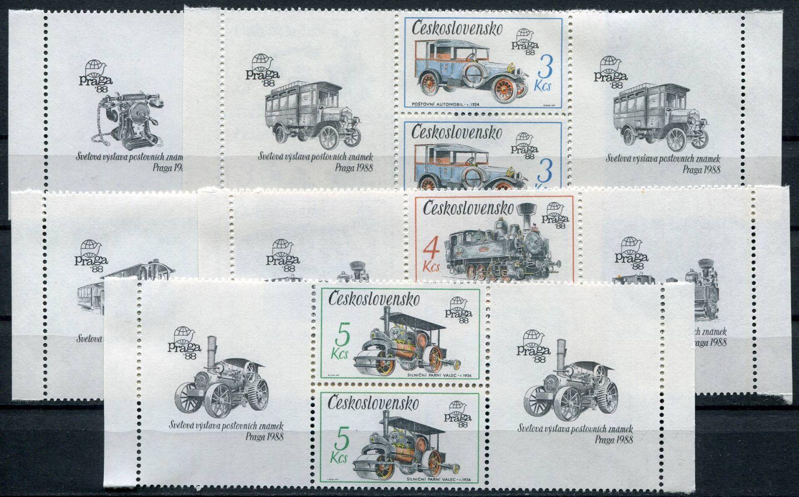 (1987) č. 2794 - 2798 ** - S - Československo - Technické památky ČSSR   www.tgw.cz