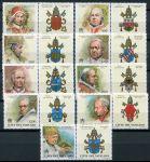 (2000) MiNr. 1327 - 1336 ** zn. + KP  - Vatikán - Papežové (III).