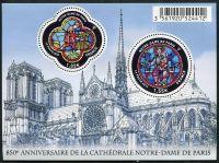 (2013) MiNr. 5494 - 5495 ** - Francie - BLOCK 215 - Katedrála Notre-Dame | www.tgw.cz