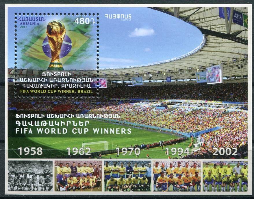 (2017) MiNr. 1053 ** BLOCK 86 - Arménie - Světový pohár - FIFA World cup   www.tgw.cz
