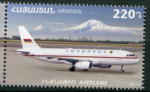 (2019) MiNr. 1140 ** - Arménie - Vládní letadlo | www.tgw.cz