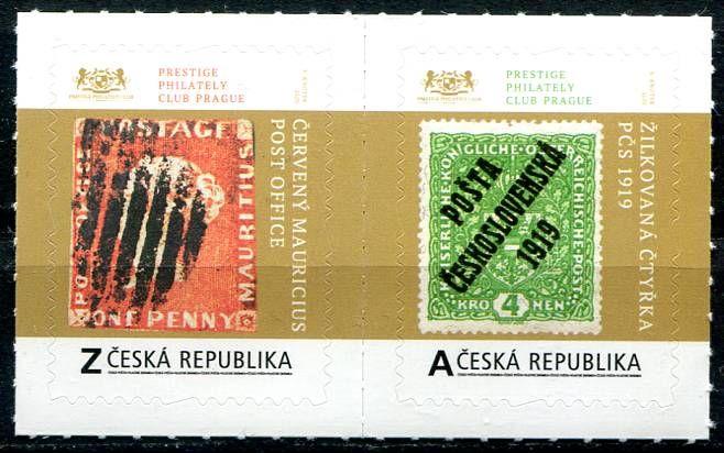 (2020) č. 995 - 996 **- Česká republika - Poklady světové filatelie (1)   www.tgw.cz