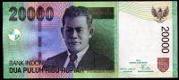 Indonesie - (P 144 a) - 20 000 RUPIAH (2004) - UNC | www.tgw.cz