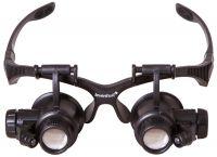 Levenhuk lupa brýle 10- 25x Zeno Vizor G4 | www.tgw.cz