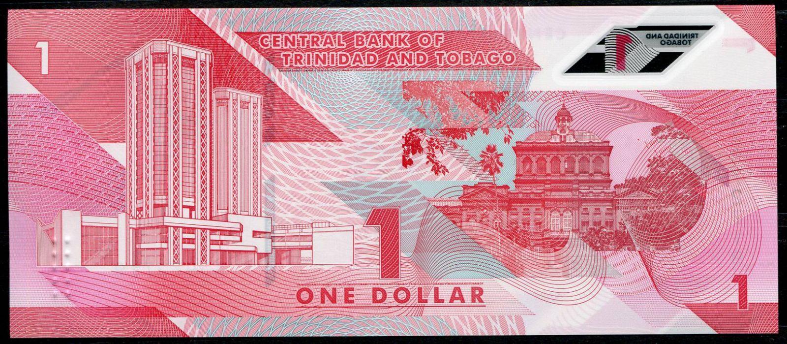 Trinidad a Tobago (P 60) - 1 Dolar (2020) - UNC polymer | www.tgw.cz