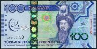 Turkmenistán (P 41) - 100 manat (2017) - pamětní bankovka UNC