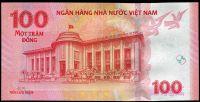 Vietnam - (P 125) - 100 Dông (2016) UNC - pamětní bankovka | www.tgw.cz