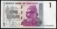 Zimbabwe - (P 65) 1 dollar (2007) - UNC | www.tgw.cz