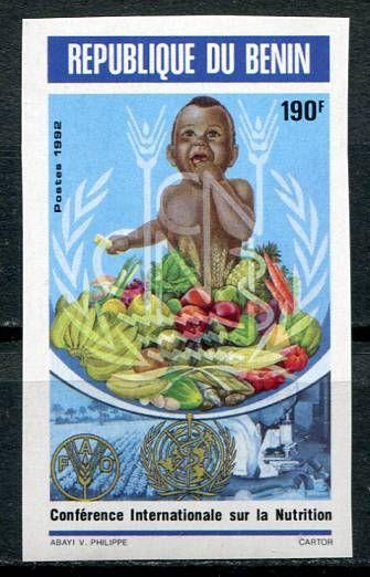 (1992) MiNr. 535 B ** - Benin - Světová potravinová konference, Řím   www.tgw.cz