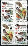 "(2020) č. 1083 - 1084 **, 4-bl (2) - Česká republika - Zpěvní ptáci (III.) ""E""   www.tgw.cz"