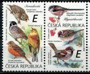 """(2020) č. 1083 - 1084 ** sp (2) - Česká republika - Zpěvní ptáci (III.) """"E""""   www.tgw.cz"""