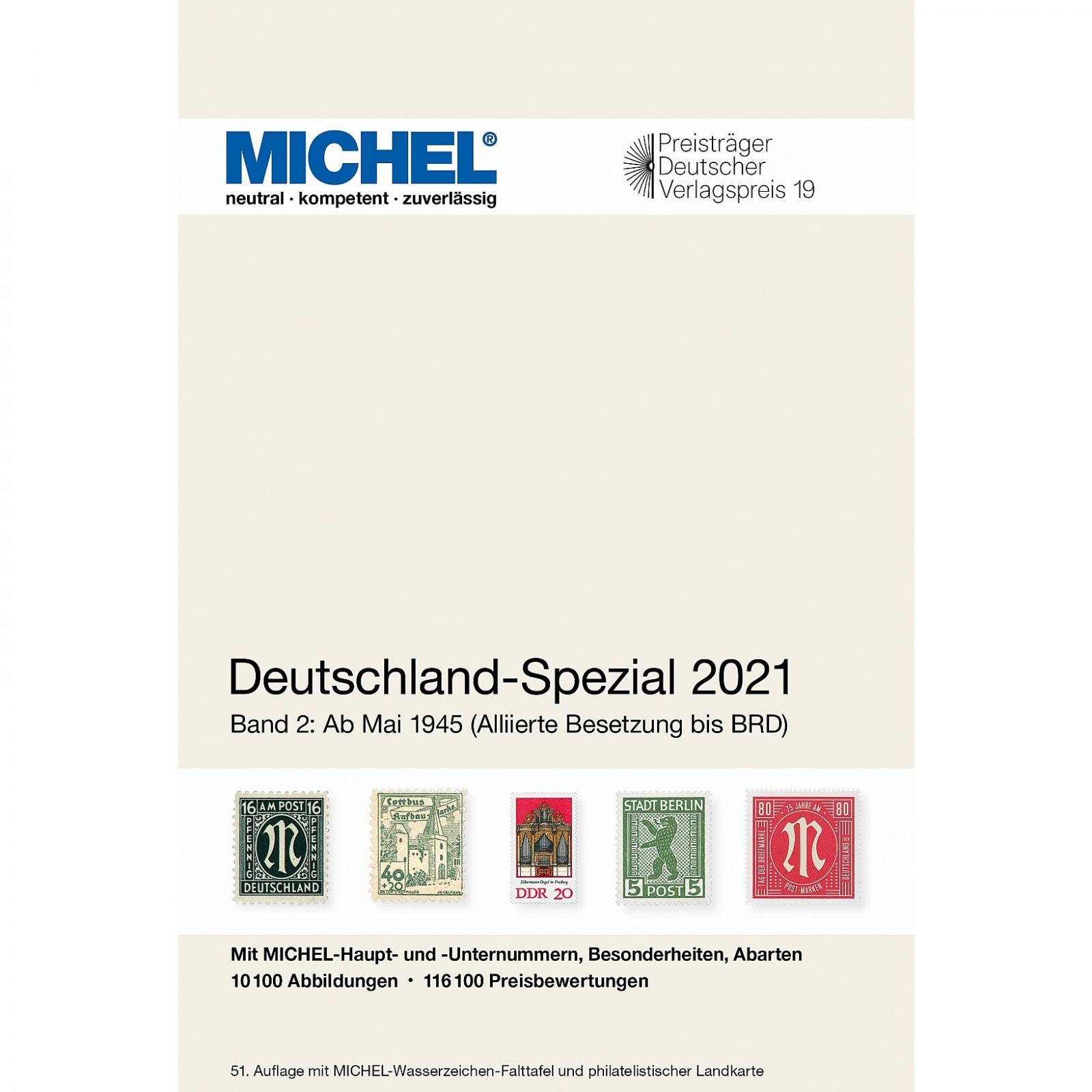 Michel 2021 - Německo speciál po r. 1945 (díl. 2)   www.tgw.cz